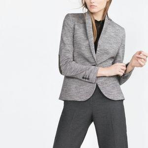 ZARA blazer with elbow patches